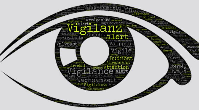Vigilance, vigilant : histoire, étymologie, sens