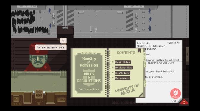 """Grenzen der Vigilanz: Wie das Computergame """"Papers, Please"""" mit der Aufmerksamkeit spielt"""